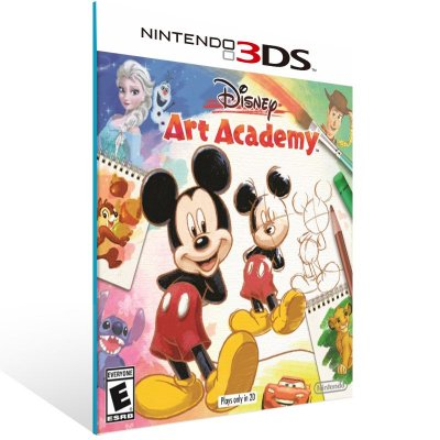 3DS - Disney Art Academy - Digital Código 16 Dígitos US
