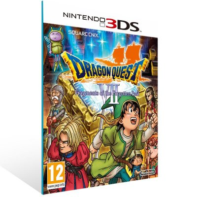 3DS - Dragon Quest VII Fragments of the Forgotten Past - Digital Código 16 Dígitos US