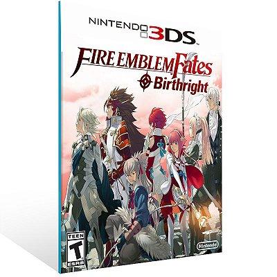 3DS - Fire Emblem Fates: Birthright - Digital Código 16 Dígitos US