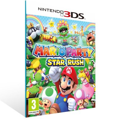 3DS - Mario Party Star Rush - Digital Código 16 Dígitos US