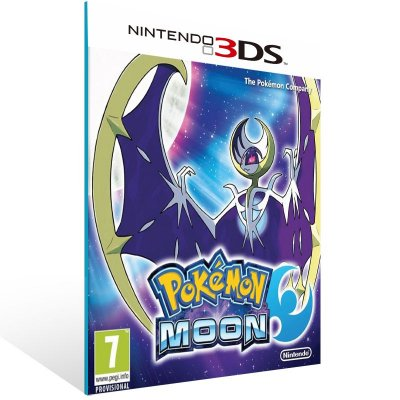 3DS - Pokémon Moon - Digital Código 16 Dígitos US