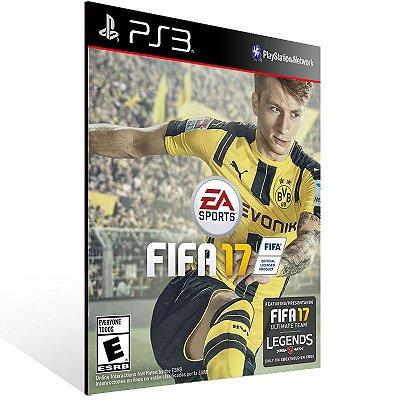 PS3 - FIFA 17 Standard Edition - Digital Código 12 Dígitos Americano