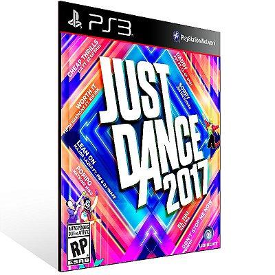 Ps3 - Just Dance 2017 - Digital Código 12 Dígitos US