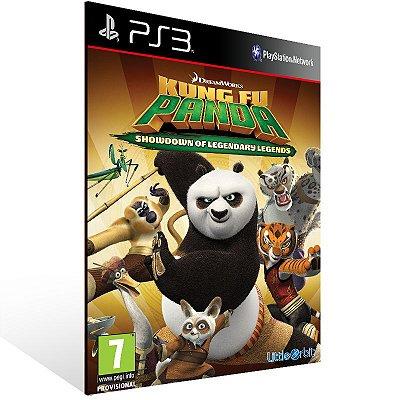 Ps3 - Kung Fu Panda Showdown of Legendary Legends - Digital Código 12 Dígitos US
