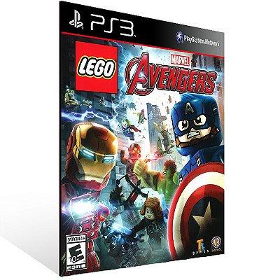 PS3 - LEGO Marvel's Avengers - Digital Código 12 Dígitos Americano