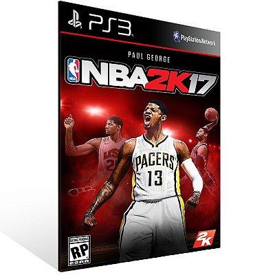 PS3 - NBA 2K17 - Digital Código 12 Dígitos Americano