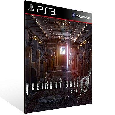 PS3 - Resident Evil 0 - Digital Código 12 Dígitos Americano