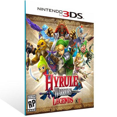 3DS - Hyrule Warriors Legends - Digital Código 16 Dígitos US