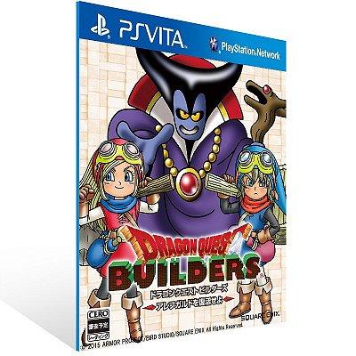 Ps Vita - Dragon Quest Builders - Digital Código 12 Dígitos US