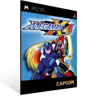 Psp - Mega Man X4 (PSOne Classic) - Digital Código 12 Dígitos US