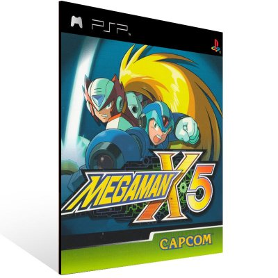 Psp - Mega Man X5 (PSOne Classic) - Digital Código 12 Dígitos US
