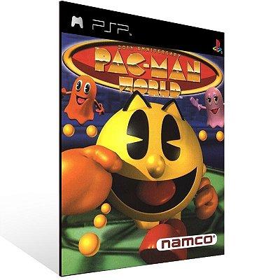 Psp - Pac-Man World 20th Anniversary (PSOne Classic) - Digital Código 12 Dígitos US