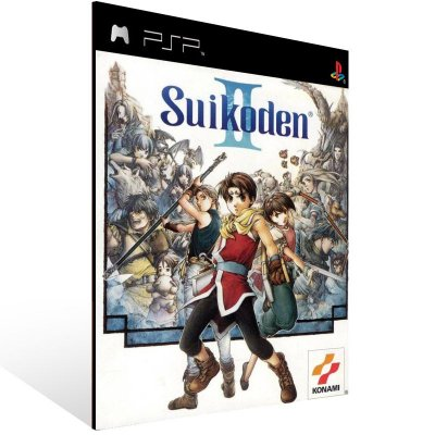 PSP - Suikoden 2 (PSOne Classic) - Digital Código 12 Dígitos US