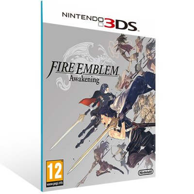 3DS - Fire Emblem Awakening - Digital Código 16 Dígitos US