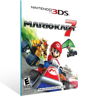 3DS - Mario Kart 7 - Digital Código 16 Dígitos US