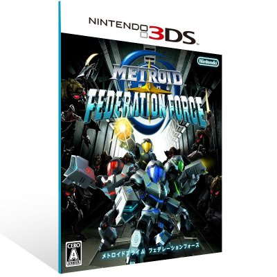 3DS - Metroid Prime: Federation Force - Digital Código 16 Dígitos US