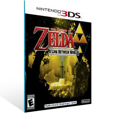 3DS - The Legend of Zelda: A Link Between Worlds - Digital Código 16 Dígitos US