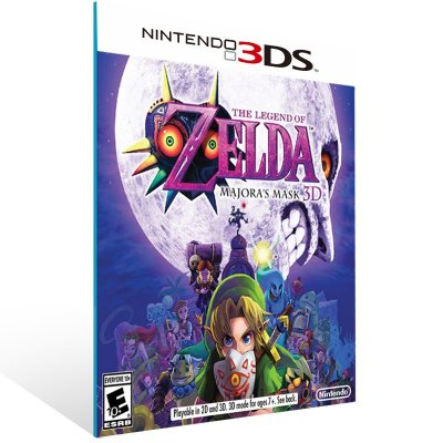 3DS - The Legend of Zelda: Majora Mask 3D - Digital Código 16 Dígitos US