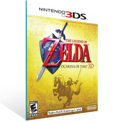 3DS - The Legend of Zelda: Ocarina of Time 3D - Digital Código 16 Dígitos US