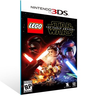 3DS - LEGO Star Wars: The Force Awakens - Digital Código 16 Dígitos US