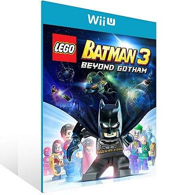 Wii U - LEGO Batman 3: Beyond Gotham - Digital Código 16 Dígitos US