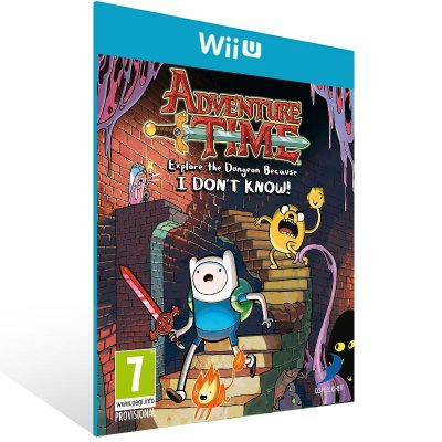 Wii U - Adventure Time: Explore the Dungeon Because I DON'T KNOW! - Digital Código 16 Dígitos US