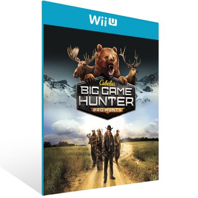 Wii U - Cabela's Big Game Hunter Pro Hunts - Digital Código 16 Dígitos US