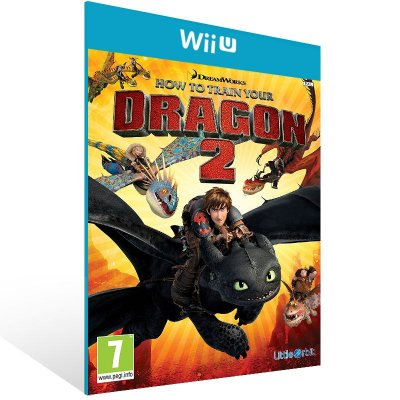 Wii U - How to Train Your Dragon 2 - Digital Código 16 Dígitos US