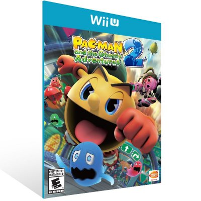 Wii U - PAC-MAN and the Ghostly Adventures 2 - Digital Código 16 Dígitos Americano