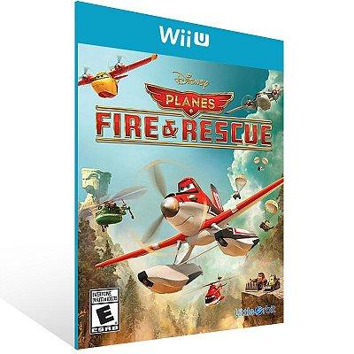 Wii U - Planes Fire & Rescue - Digital Código 16 Dígitos Americano