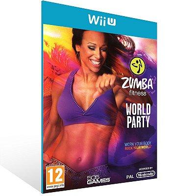 Wii U - Zumba Fitness World Party - Digital Código 16 Dígitos US
