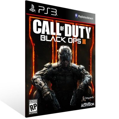 Ps3 - Call of Duty Black Ops 3 - Digital Código 12 Dígitos US