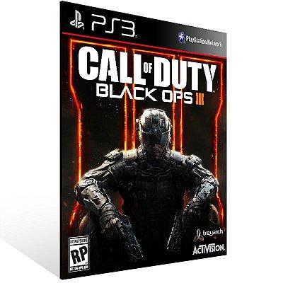 Ps3 - Call of Duty Black Ops 3 - Digital Código 12 Dígitos US