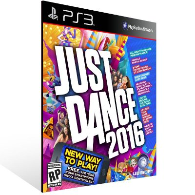 PS3 - Just Dance 2016 - Digital Código 12 Dígitos Americano