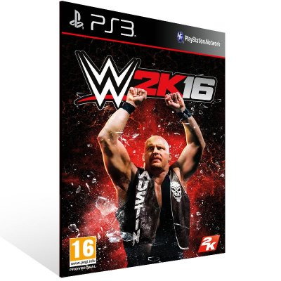 PS3 - WWE 2K16 - Digital Código 12 Dígitos Americano