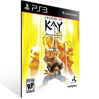 Ps3 - Legend of Kay Anniversary - Digital Código 12 Dígitos US