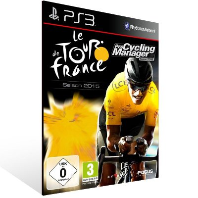 Ps3 - Tour de France 2015 - Digital Código 12 Dígitos US