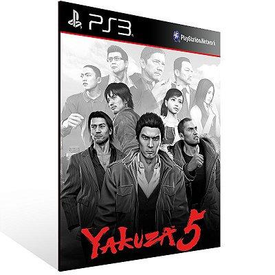 Ps3 - Yakuza 5 - Digital Código 12 Dígitos US