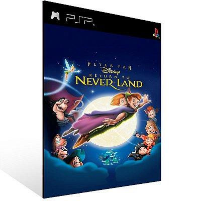 Psp - Disney's Peter Pan Return to Never Land (PSOne Classic) - Digital Código 12 Dígitos US