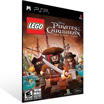 Psp - LEGO Pirates of the Caribbean: The Video Game Psp - Digital Código 12 Dígitos US