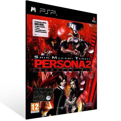 Psp - Shin Megami Tensei Persona 2 Innocent Sin - Digital Código 12 Dígitos US