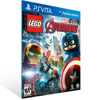 Ps Vita - LEGO Marvel's Avengers - Digital Código 12 Dígitos US