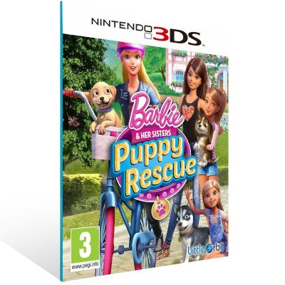 3DS - Barbie and her Sisters Puppy Rescue - Digital Código 16 Dígitos US