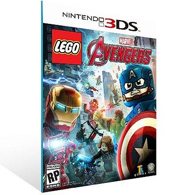 3DS - LEGO Marvel Avengers - Digital Código 16 Dígitos US