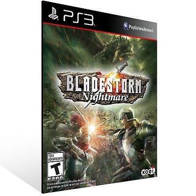 Ps3 - Bladestorm Nightmare - Digital Código 12 Dígitos US
