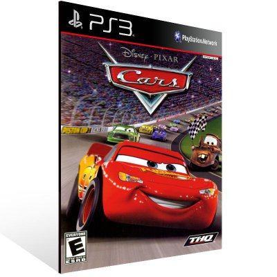PS3 - Disney/Pixar Cars (PS2 Classic) - Digital Código 12 Dígitos Americano