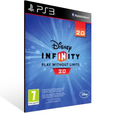 PS3 - Disney Infinity (2.0 Edition) - Digital Código 12 Dígitos Americano