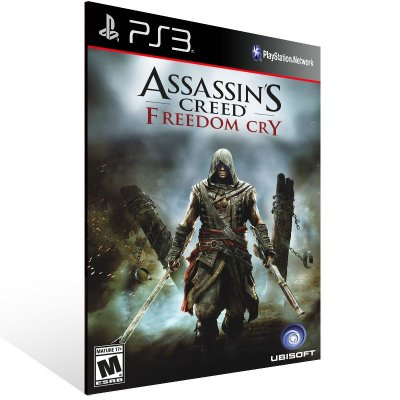 Ps3 - Assassins Creed Freedom Cry - Digital Código 12 Dígitos US