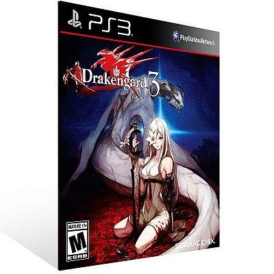 PS3 - Drakengard 3 - Digital Código 12 Dígitos Americano