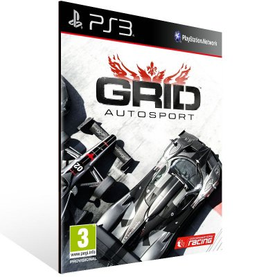 PS3 - GRID Autosport - Digital Código 12 Dígitos Americano